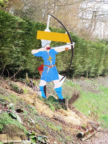 Battle of Agincourt - Archer silhouette