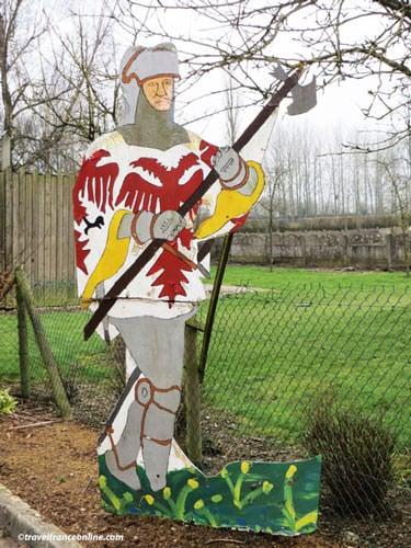Battle of Agincourt - Men-on-foot silhouette