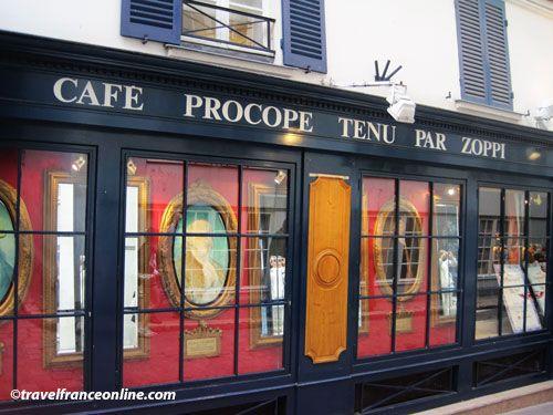 Le Procope - Entrance in Cour du Commerce Saint-Andre