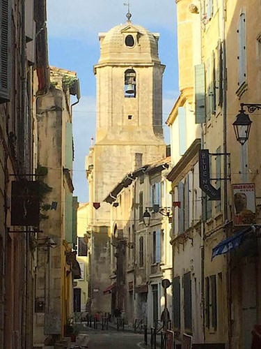 Arles downtown