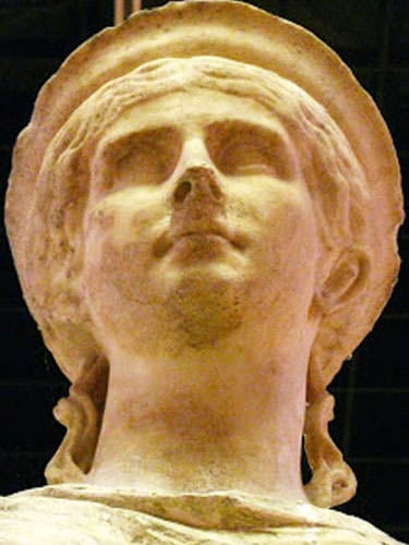 Cemelenum - Antonia Augusta bust