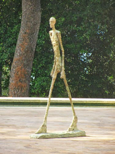 Maeght Foundation - Man Walking by Giacometti