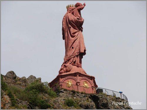 Notre-Dame-de-France statue in Puy-en-Velay