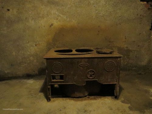 Fort of Douaumont - Kitchen