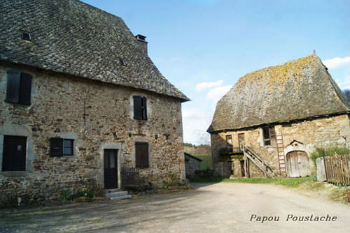 Traditional farm in Cantal