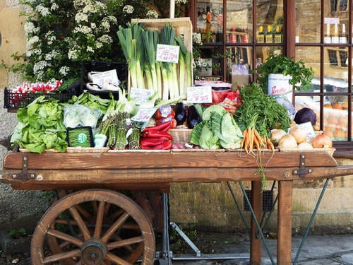 French food markets