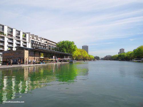 Bassin de la Villette and Quai de Seine