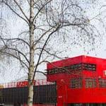 Le Zenith de Paris Folie and concert hall in Parc de la Villette - Paris