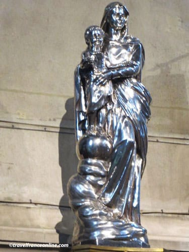 Saint Francois Xavier Church - Silver Virgin with Child