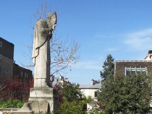 Saint-Denis, patron saint of Paris