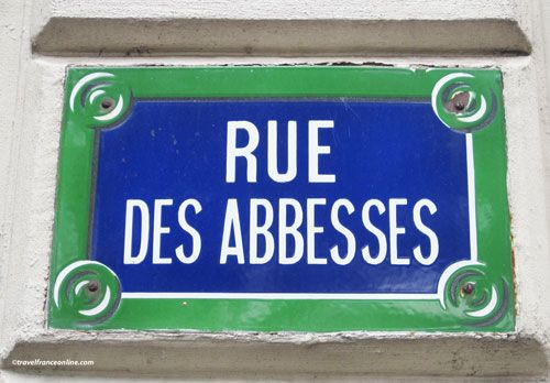 Montmartre Abbey - Rue des Abbesses