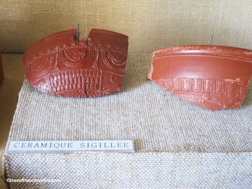 Giroussens Contemporary Ceramics Market - Roman sigillated pottery