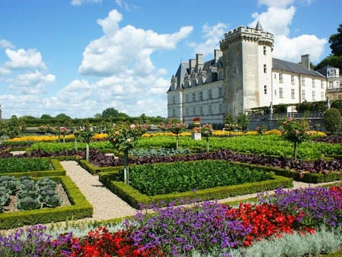 Chateau de Villandry and gardens