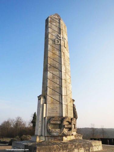 Monument des Basques - Chemin des Dames