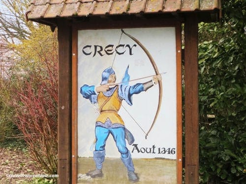 Site of the Battle of Crecy en Ponthieu
