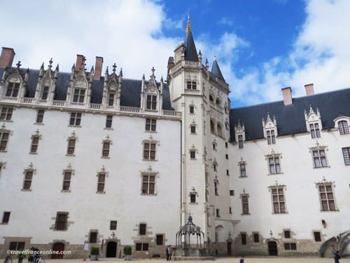 Castle of the Dukes of Brittany in Nantes - Grand Logis, Tour de la Couronne and Grand Gouvernement