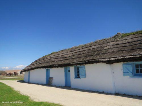 Ecomuseum Marais Vendeen - Traditional farm or Bourrine