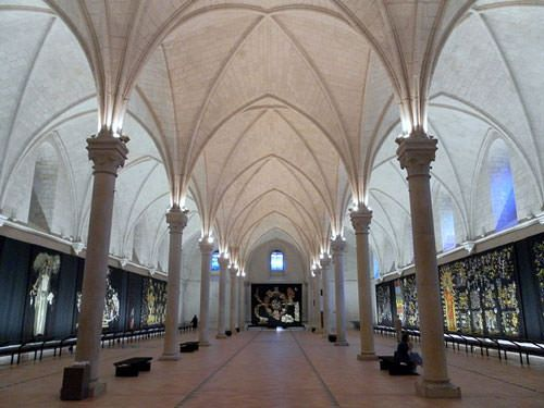 Grande Salle des Malades in Hôpital Saint-Jean - Angers city