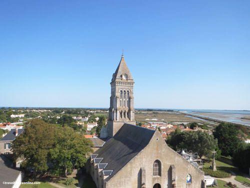Ile de Noirmoutier - St Philbert Church in Noirmoutier-en-l'Ile