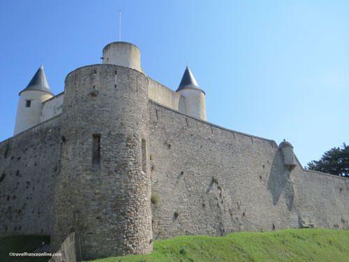 Ile de Noirmoutier - Chateau de Noirmoutier Fortifications