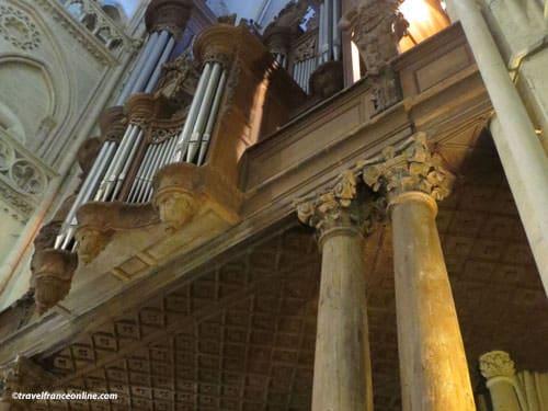 Cathedrale Notre-Dame de Coutances - organ