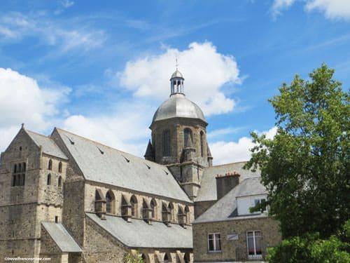 Saint-Nicolas Church in Coutances
