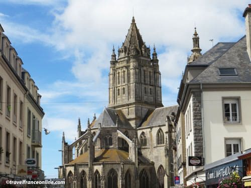 St-Pierre Church in Coutances
