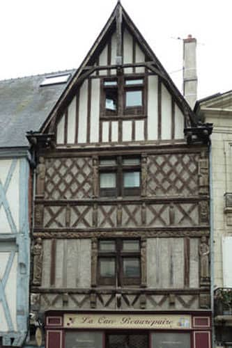 Maison de Simon Poisson - Angers city