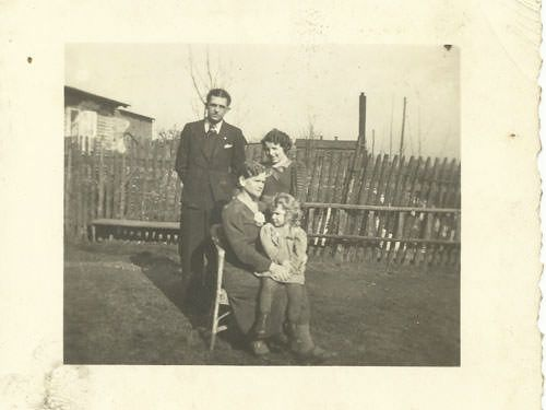 Wilhelm Lubrich and family before the war