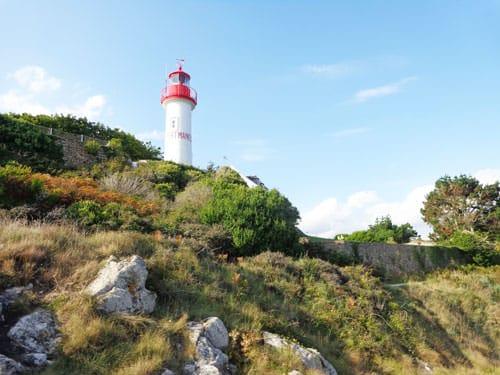 Port Manech lighthouse in Nevez