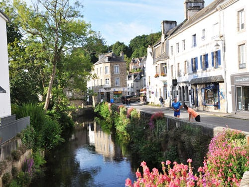 Aven River in Pont-Aven