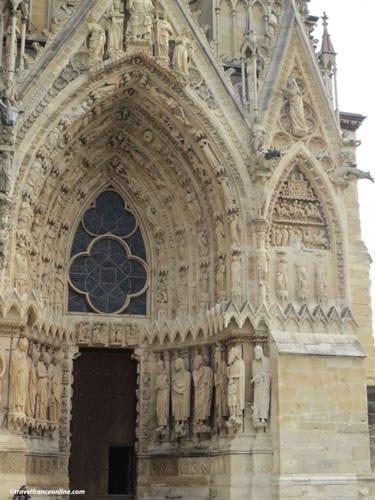 Reims Cathedral facade