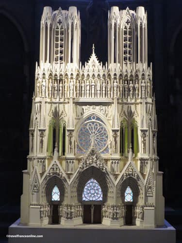 Reims Cathedral - model