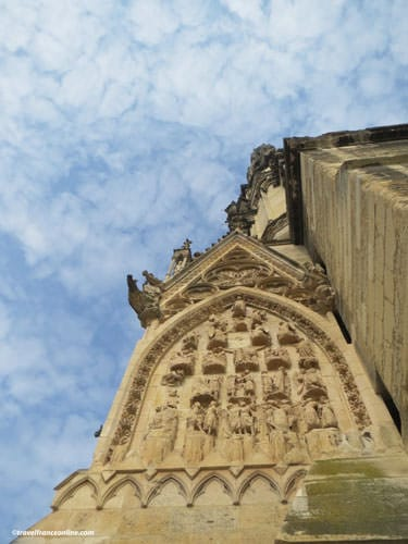 Reims Cathedral - detail sculptures