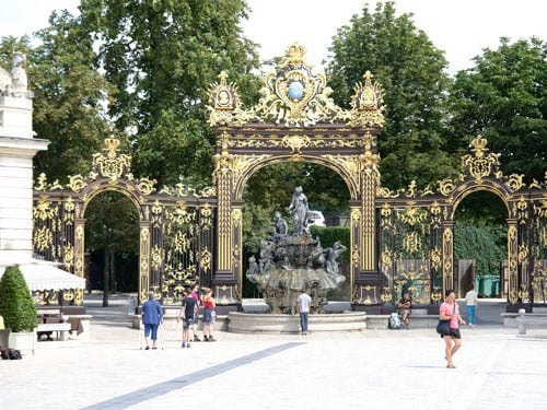 Fountain on Place Stanislas