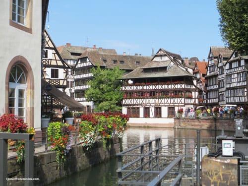 Maison des Tanneurs and lock - La Petite France