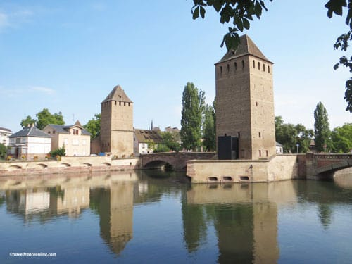 Pont Couverts and towers - La Petite France