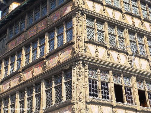 Maison Kammerzell near La Petite France in Strasbourg