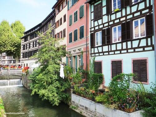 Alsace traditional architecture in La Petite France