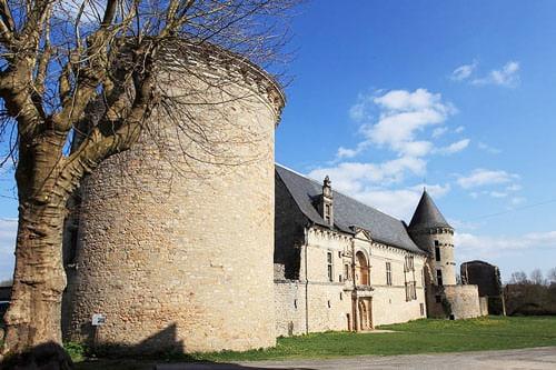 Galiot's castle near Saint-Pierre of Assier Church