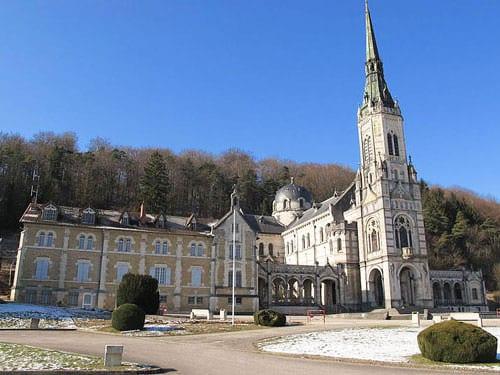 Basilique Ste-Jeanne d'Arc also known as Basilique du Bois Chenu in Domremy-la-Pucelle