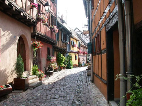 Lane in Eguisheim