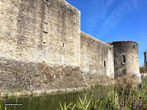 Chateau de Bricquebec - Rampart and Tour de l'Epine