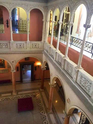 Villa Ephrussi de Rothschild in Saint-Jean-Cap-Ferrat - patio