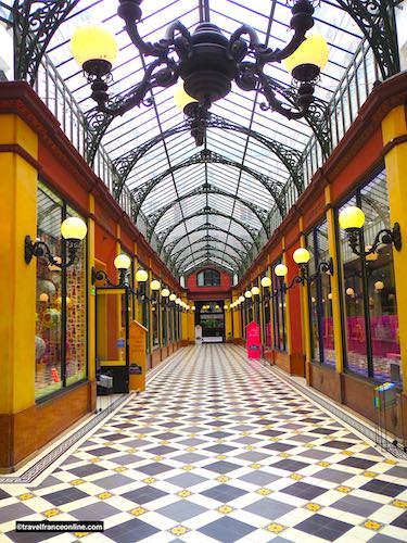 Passage des Princes - Impressive glass roof