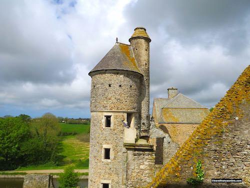 Chateau de Gratot - Tour Ronde