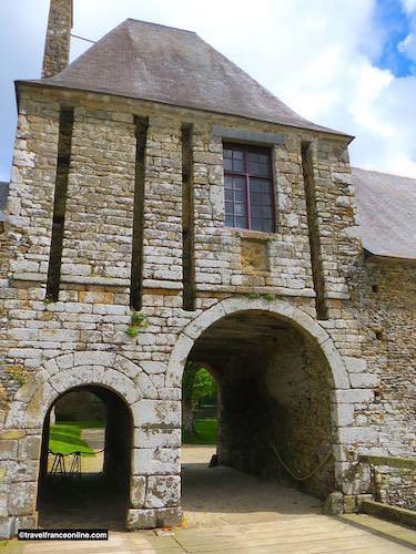Chateau de Gratot -entrance gatehouse