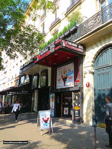 Théâtre des Nouveautés on the Grands Boulevards in Paris