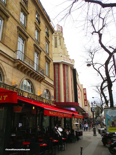 Le Grand Rex cinema on the Grands Boulevards