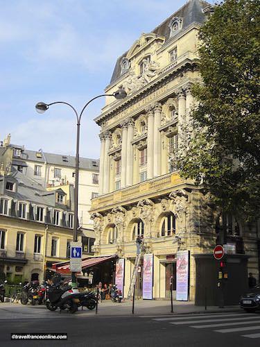 Theatre de la Renaissance on the Grands Boulevards